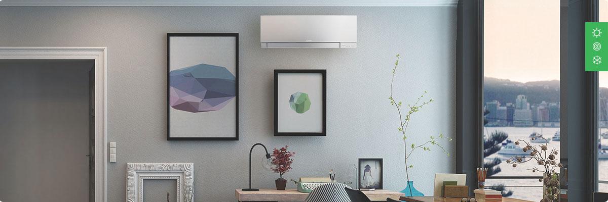 Комплексное решение ОВиК для 1-комнатной квартиры