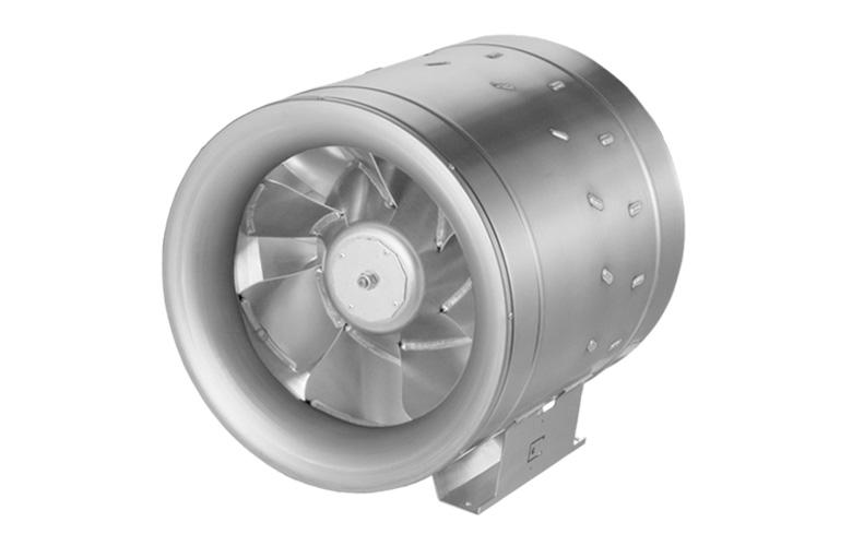 Круглый канальный вентилятор Ruck EL 400 D4 01
