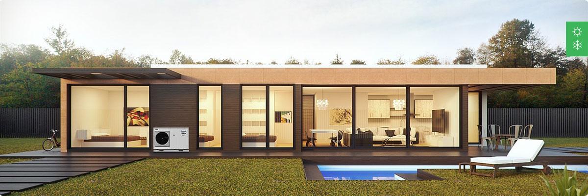 Система кондиционирования для частного дома до 250 м²