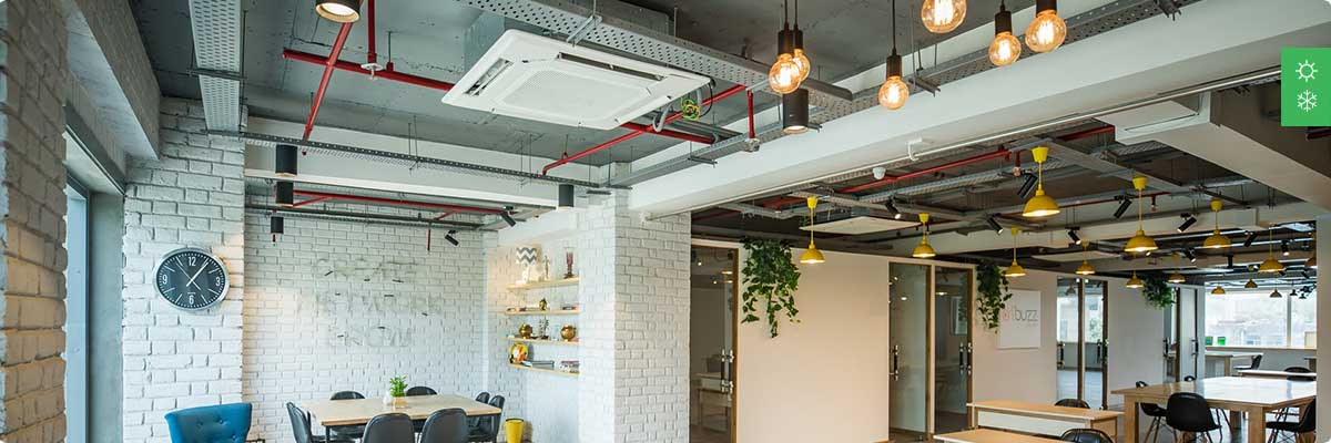 Система кондиционирования для офисного помещения до 200 м²