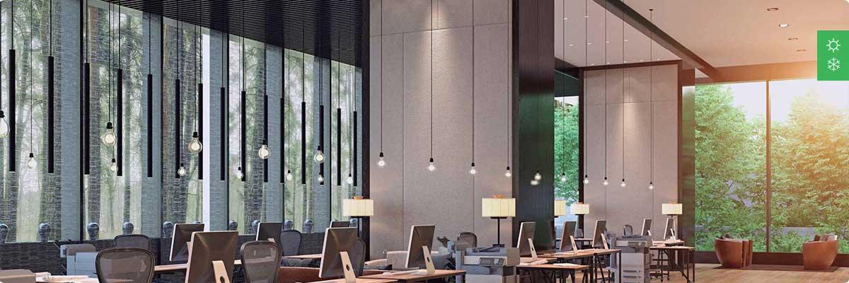 Система кондиционирования для офисного помещения до 500 м²