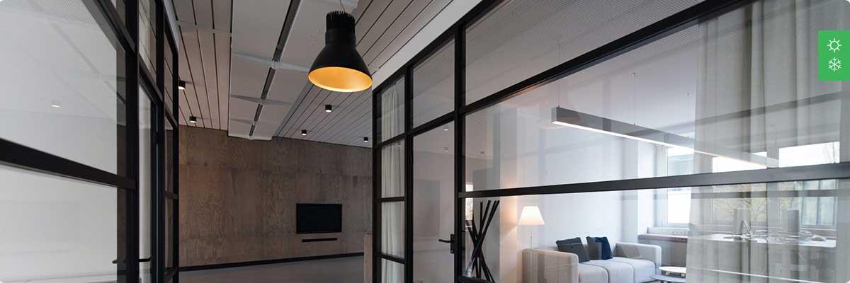 Система отопления для офисного помещения до 500 м²