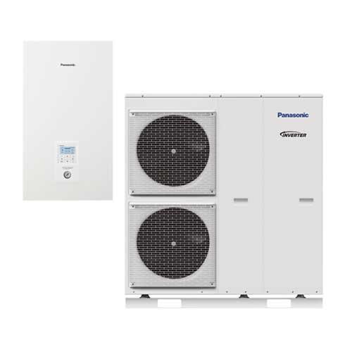 Panasonic Aquarea T-CAP Bi-bloc