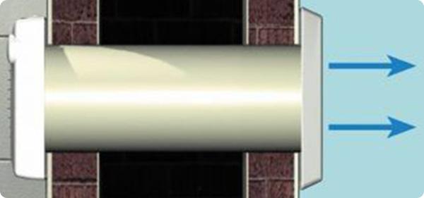 Вытяжной вентиляционный канал