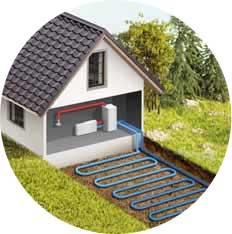 Источник тепла - Почва - Геотермальный тепловой насос